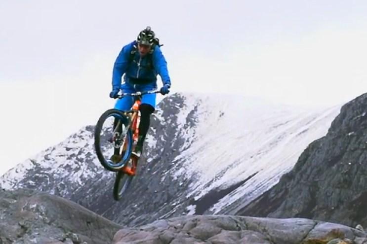 Steve Peat Test Drives the Santa Cruz Solo Through the Scottish Mountains