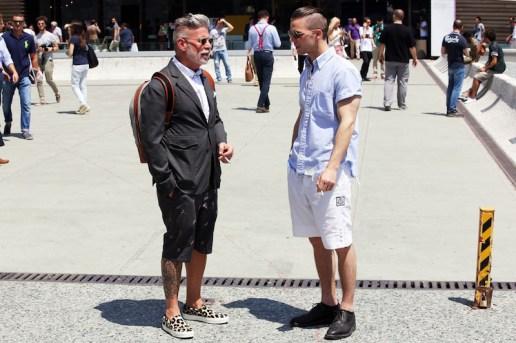 STREETFSN: Pitti Uomo 2013 Summer Street Style Day 2
