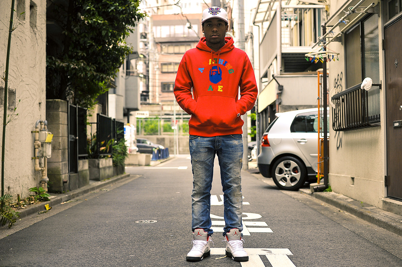 Streetsnaps: A$AP Mob in Tokyo Pt. 2