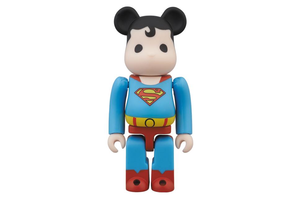 superman x medicom toy 100 bearbrick