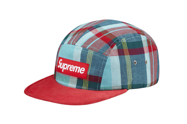 supreme 2013 summer madras camp cap