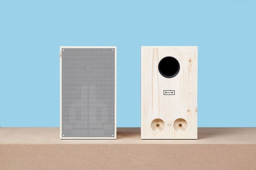 Sustainably Harvested Wooden Speakers by Neue Werkstatt