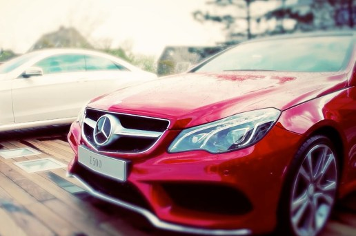 Taking the New 2014 Mercedes-Benz E-Class for a Drive