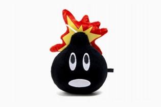 The Hundreds Adam Bomb Plush Toy