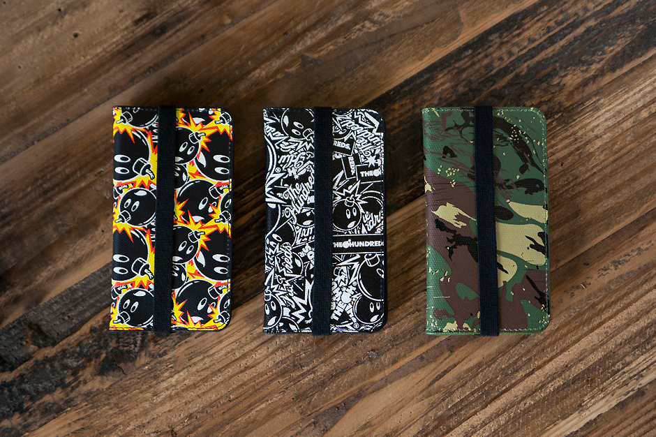 The Hundreds x HEX Axis Wallet for iPhone 5