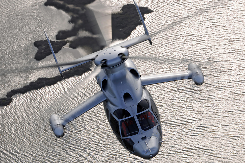 the new fastest helicopter on earth flys at over 300 mph