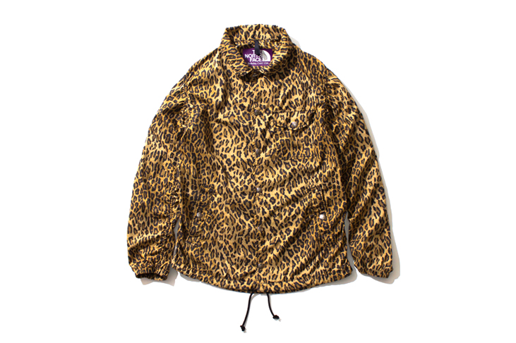 THE NORTH FACE PURPLE LABEL 2013 Leopard Print Collection