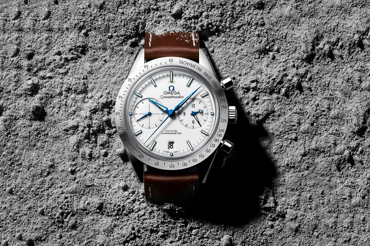 the omega speedmaster 57 co axial chronograph