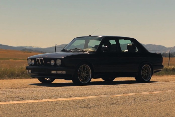 "The ""Unassuming and Unfaltering"" BMW M5"