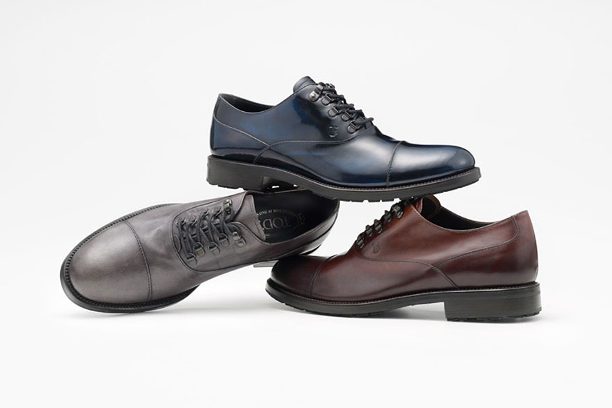 Tod's 2013 Fall/Winter Urban Trekker Shoe by Nendo