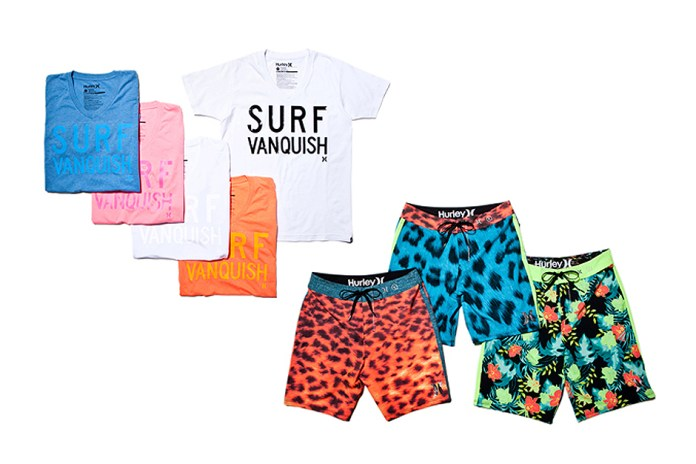 VANQUISH x Hurley 2013 Summer Collection