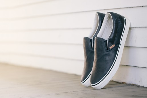 Vans Vault Classic Slip-On 59 LX Leather Palm Leaf Pack
