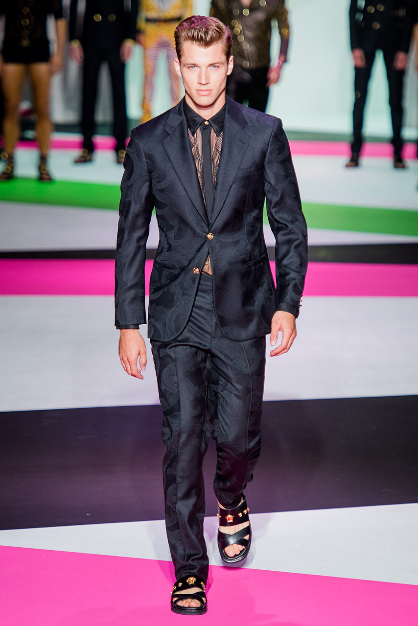versace 2014 spring summer collection