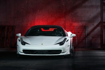 Vossen Teases its Ferrari 458 Italia