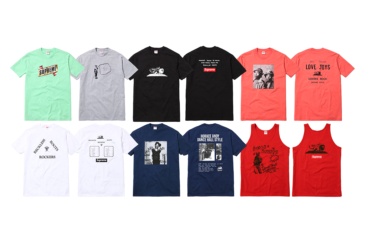 Wackies x Supreme 2013 Capsule Collection