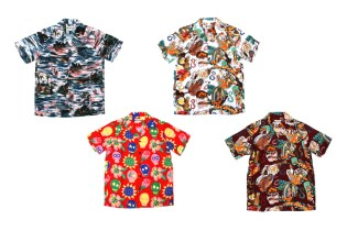 WACKO MARIA for UNITED ARROWS & SONS Aloha Shirt Collection
