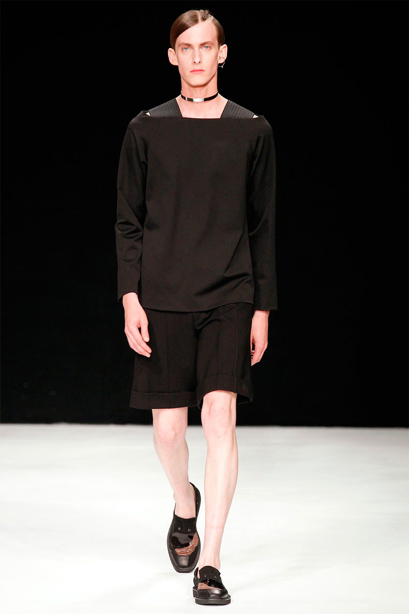 Xander Zhou 2014 Spring/Summer Collection