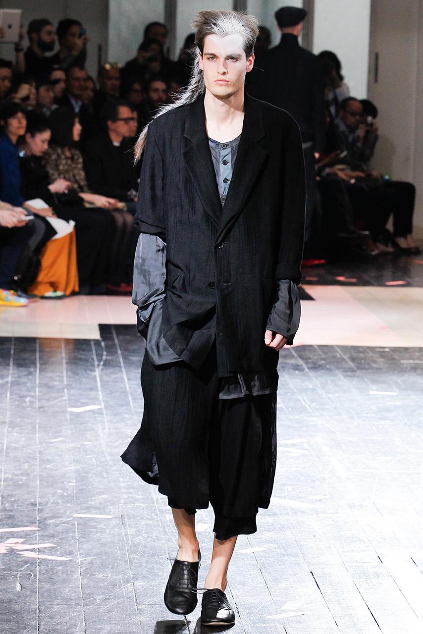 Yohji Yamamoto 2014 Spring Collection