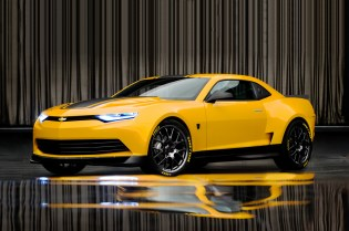 "2014 Chevrolet Camaro is New Transformers 4's ""Bumblebee"""