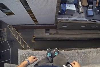 A POV Video of Rooftop Parkour