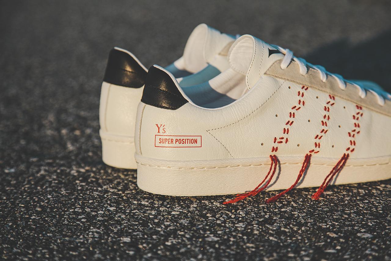 Y's by Yohji Yamamoto x adidas Consortium Super Position Pack