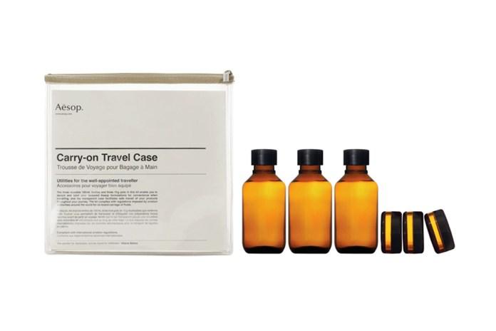 Aesop Carry-On Travel Case Kit