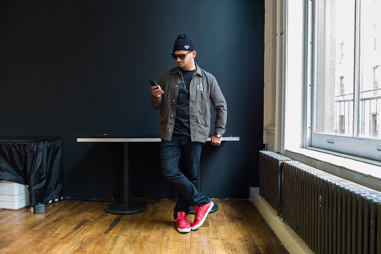 AGENDA NYC: Streetsnaps with Nick Diamond