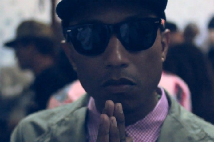 An Interview with Pharrell Williams at the Billionaire Boys Club EU 2014 Spring/Summer Launch