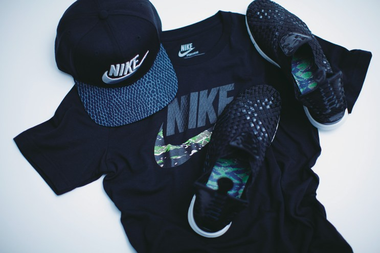 """atmos x Nike Free Woven """"Animal Camo"""" Pack Preview"""