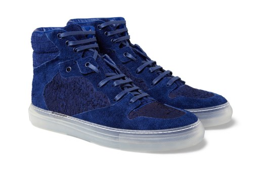 Balenciaga Suede High Top Sneakers