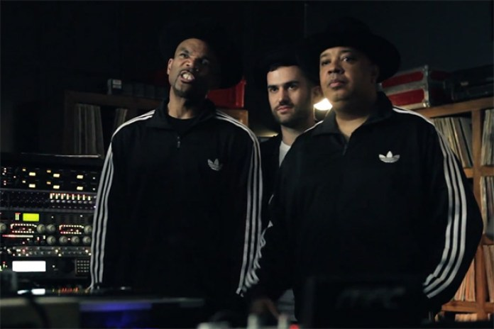 Behind the Scenes with adidas Originals, A-Trak and Run-D.M.C.
