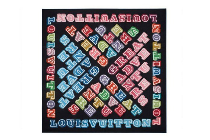 Ben Eine for Louis Vuitton Foulards D'Artistes Series