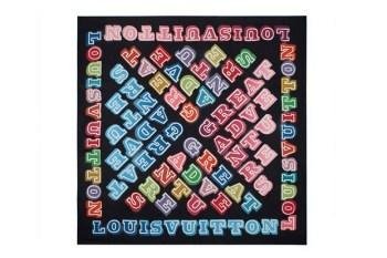 Ben Eine for Louis Vuitton Foulards D'Artistes Series