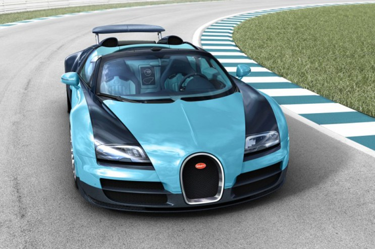 Bugatti Legends Veyron 16.4 Grand Sport Vitesse Jean-Pierre Wimille Edition