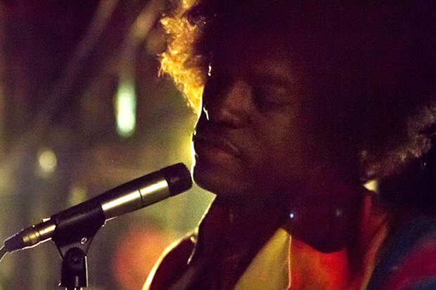 check out the first picture of andre 3000 as jimi hendrix from a new biopic