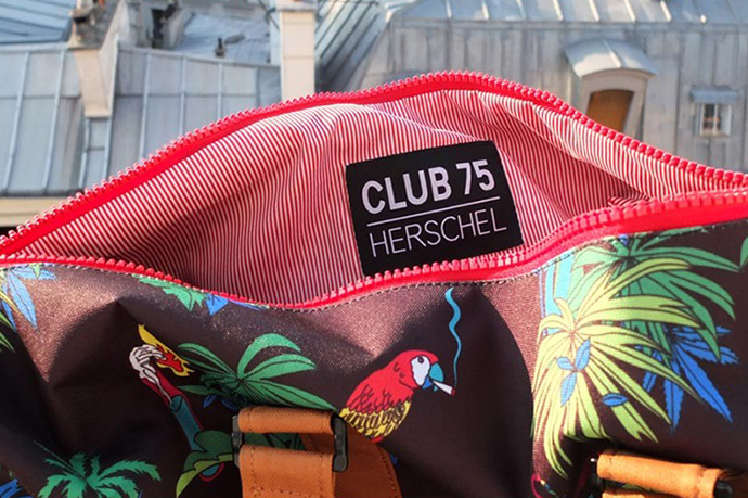 Club 75 x Herschel Supply Co. 2013 Capsule Collection