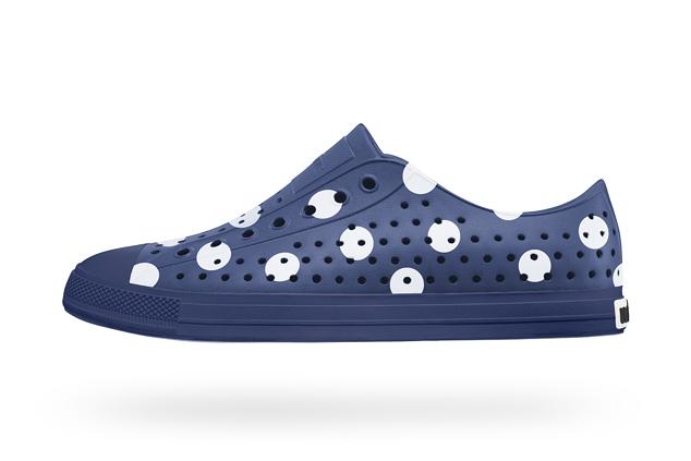 COMME des GARCONS x Native Shoes Jefferson Polka Dot