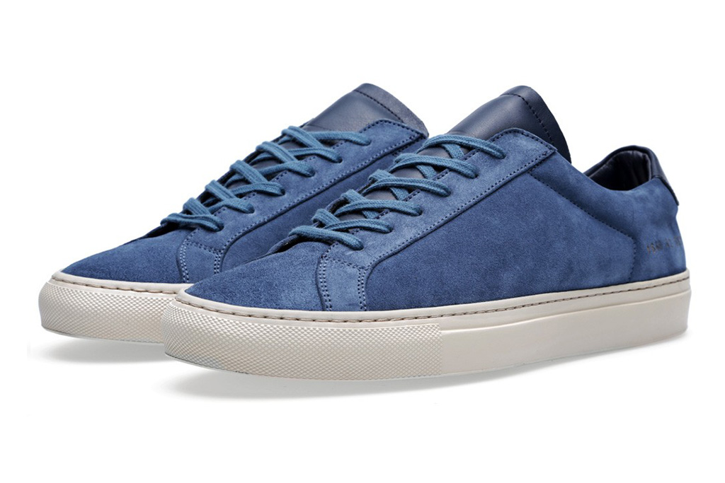 common projects 2013 fall winter suede vintage low collection