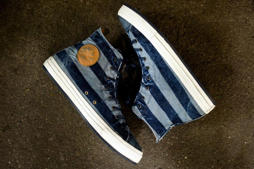 converse chuck taylor premium stripes navy