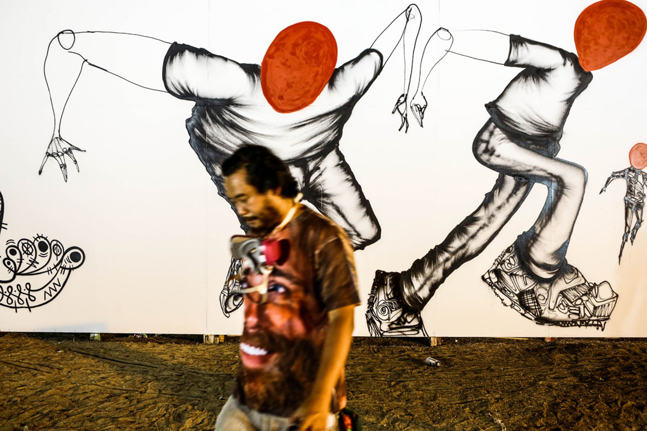 David Choe and Estevan Oriol Travel to Afghanistan with Juxtapoz