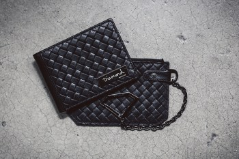 Agenda LBC: Diamond Supply Co. 2014 Basket Weave Leather Accessories