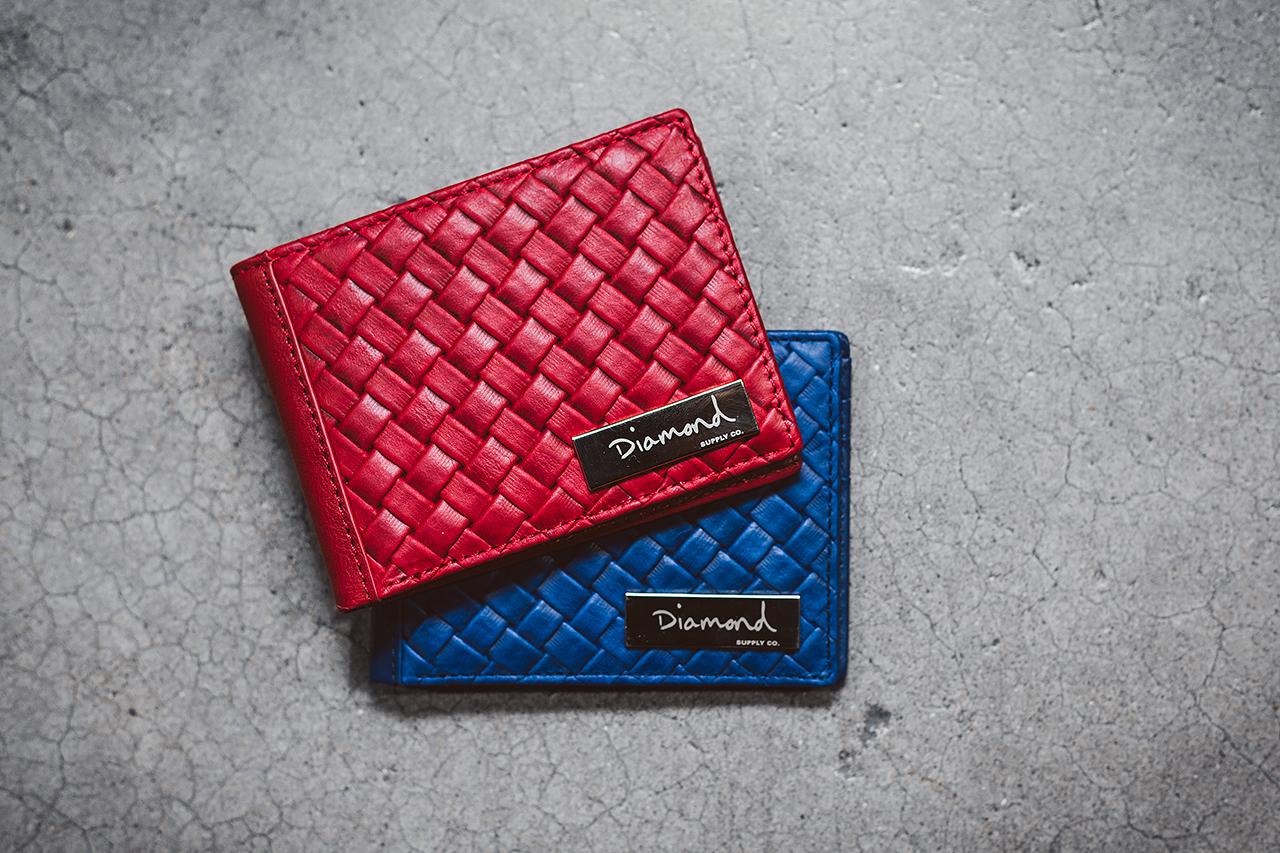 Agenda LBC: Diamond Supply Co. 2014 Basket Weave Leather Accessories