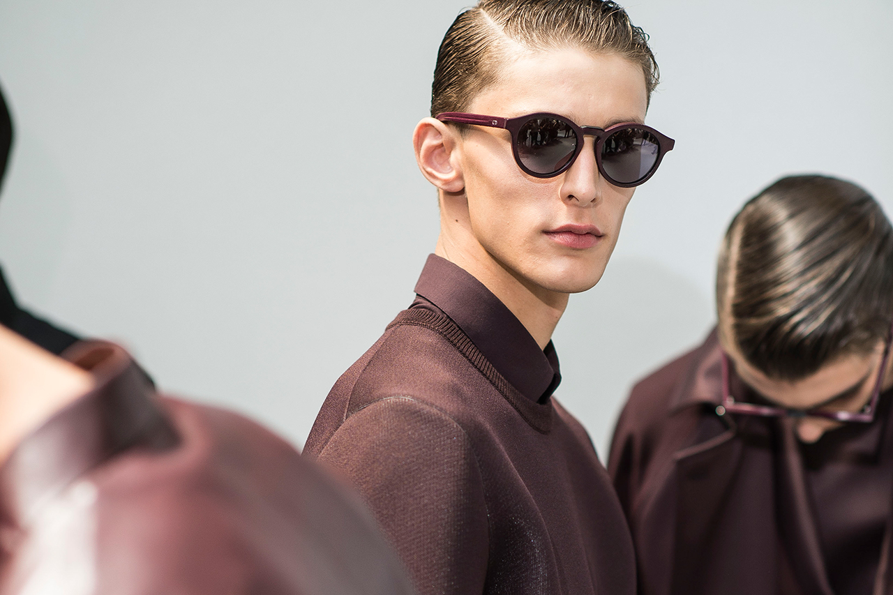 Dior Homme 2014 Spring/Summer Backstage Visuals