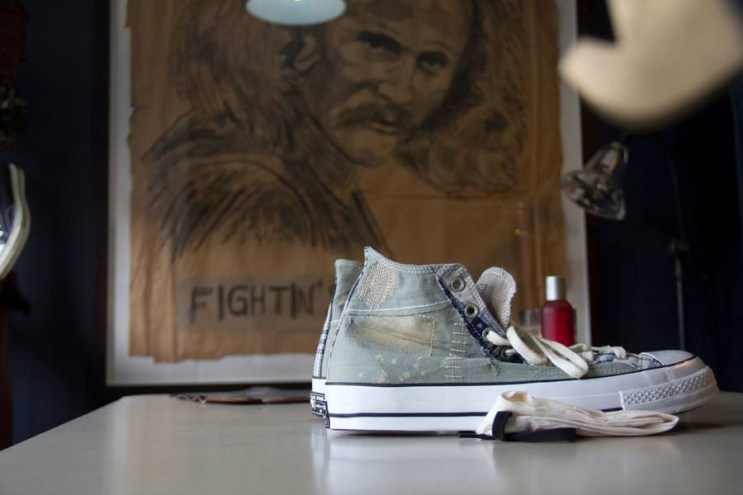 """Dr. Romanelli x Converse First String 1970s Chuck Taylor """"Boro"""" Preview"""