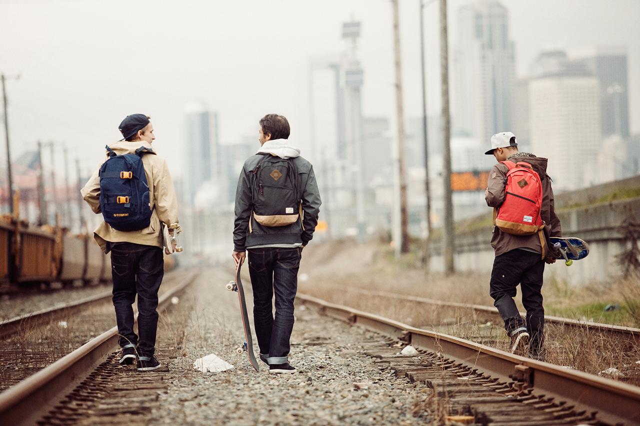 "Element 2013 Fall/Winter ""Hopping Trains In Seattle"" Lookbook"