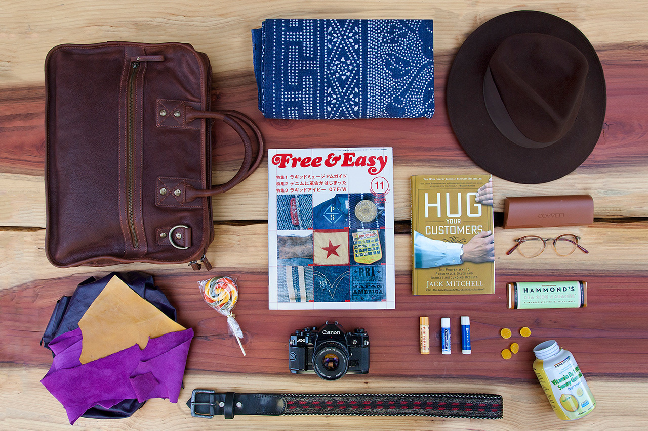 Essentials: Will Adler of WILL Leather Goods