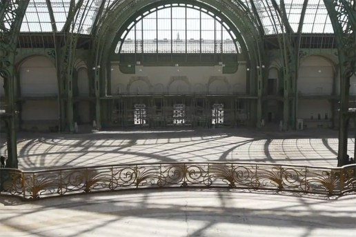 Explore Paris's Grande Palais Via Drone Photography