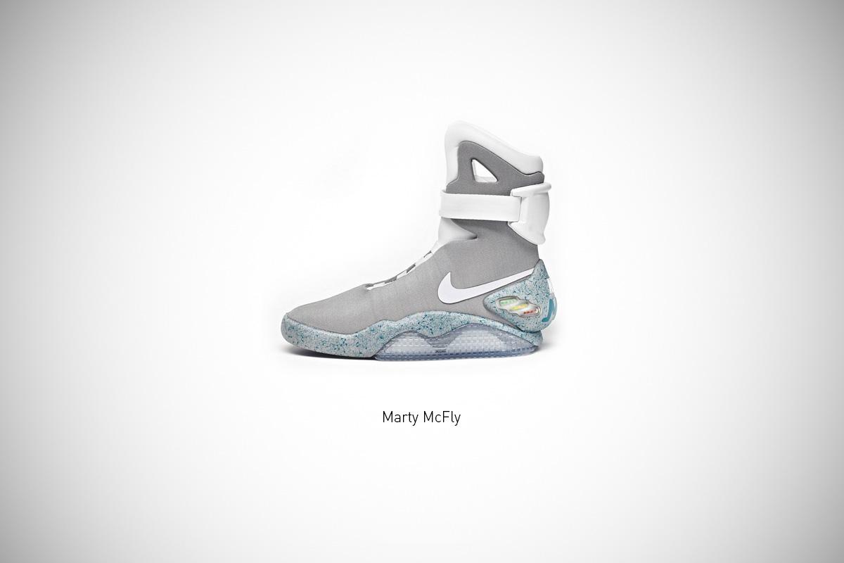 Federico Mauro's Famous Footwear Series