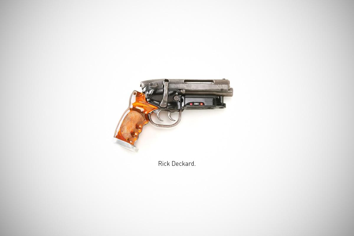Federico Mauro's Famous Guns Series