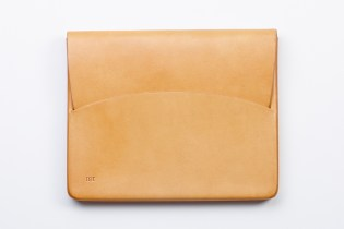FEIT Hand Moulded Leather iPad Case